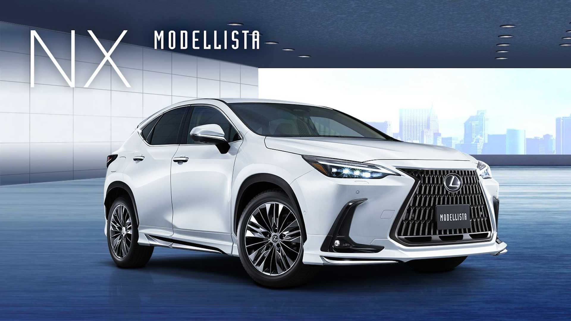 Toyota Racing Development (TRD) launched its accessories for the new Lexus NX a short while ago, and now, a body kit from Modellista is also available to purchase at a refreshingly low price. Then again, it's largely just plastic.