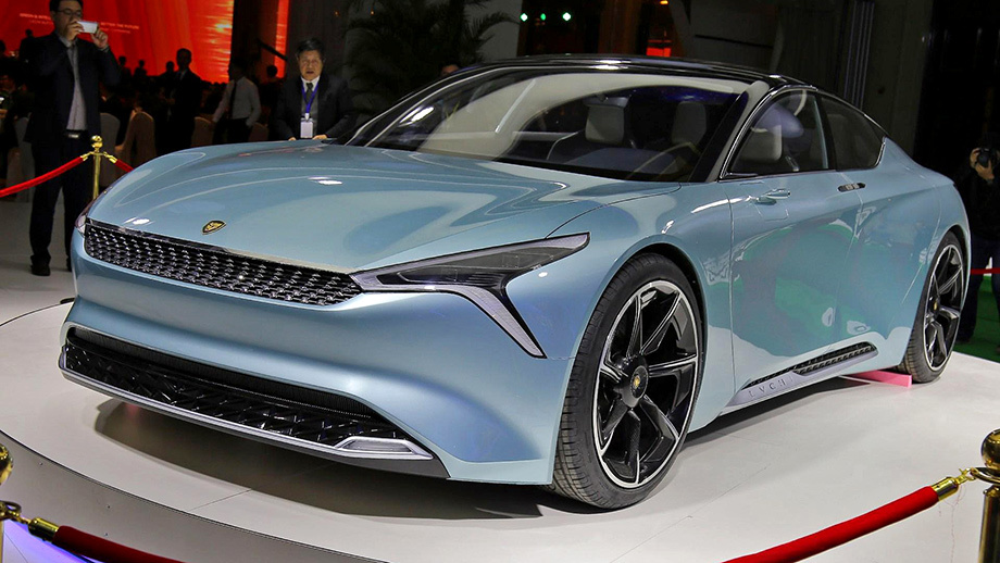 The young Chinese all-electric car company LvChi has unveiled Urano, a stylish battery-powered coupe, at an ongoing trade show in Shanghai