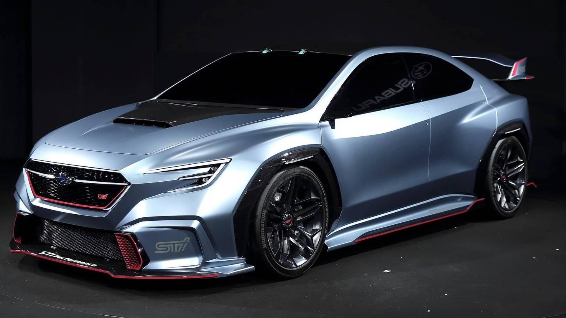 В Токио состоялась долгожданная премьера прототипа высокопроизводительного седана Subaru Viziv Performance STI Concept
