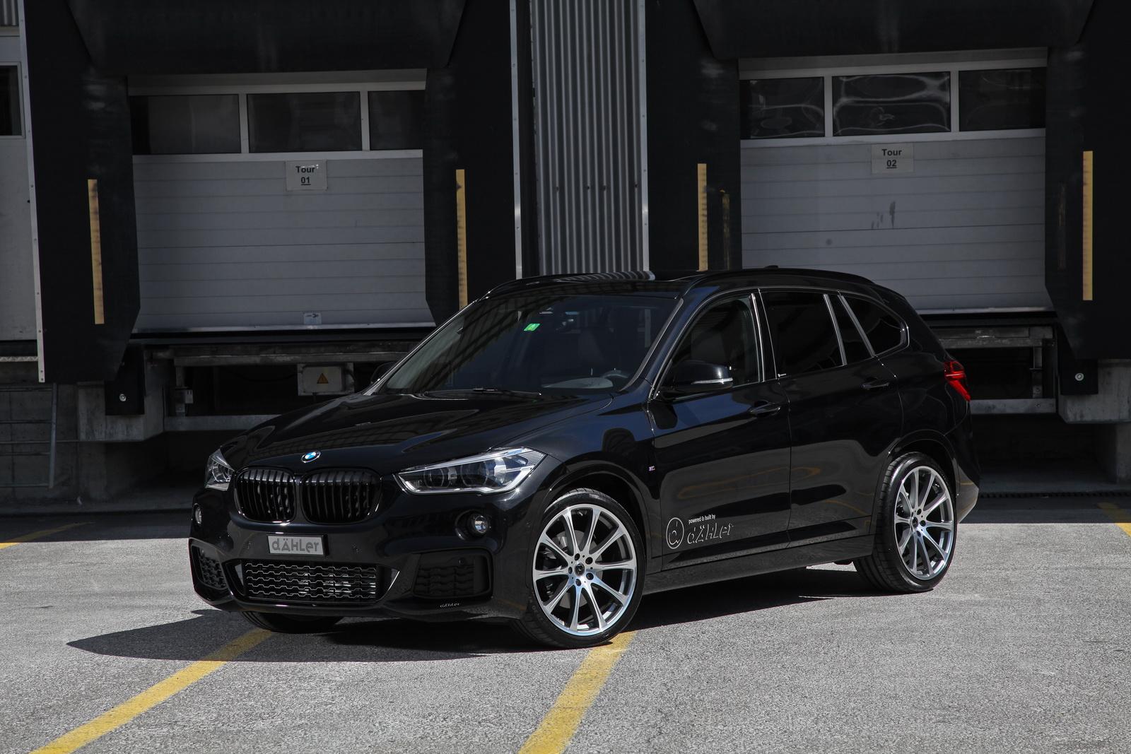 Немецкое тюнинг-ателье Dahler объявило о создании пакетов улучшений для актуального поколения кросса BMW X1 в различных версиях