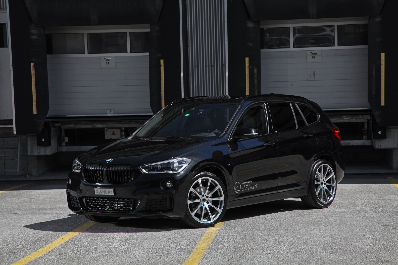 The German car tuning atelier Dahler has released a new tuning kit compatible with multiple BMW X1 SUV models