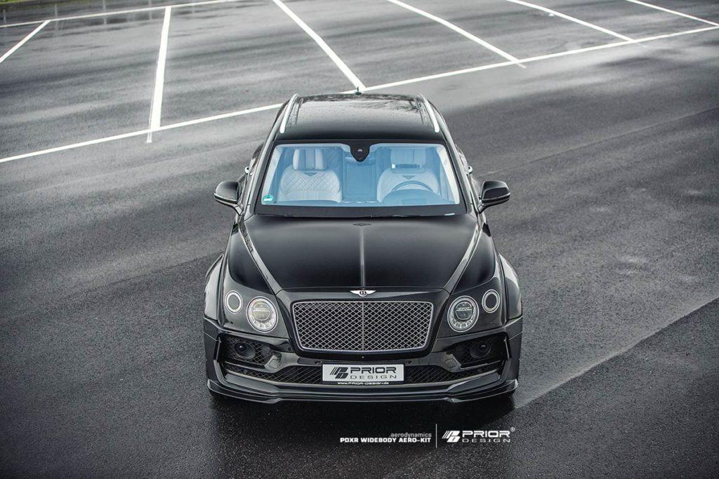 Тюнинг-ателье Prior Design представило очередной проект - пакет улучшений PDXR для Bentley Bentayga