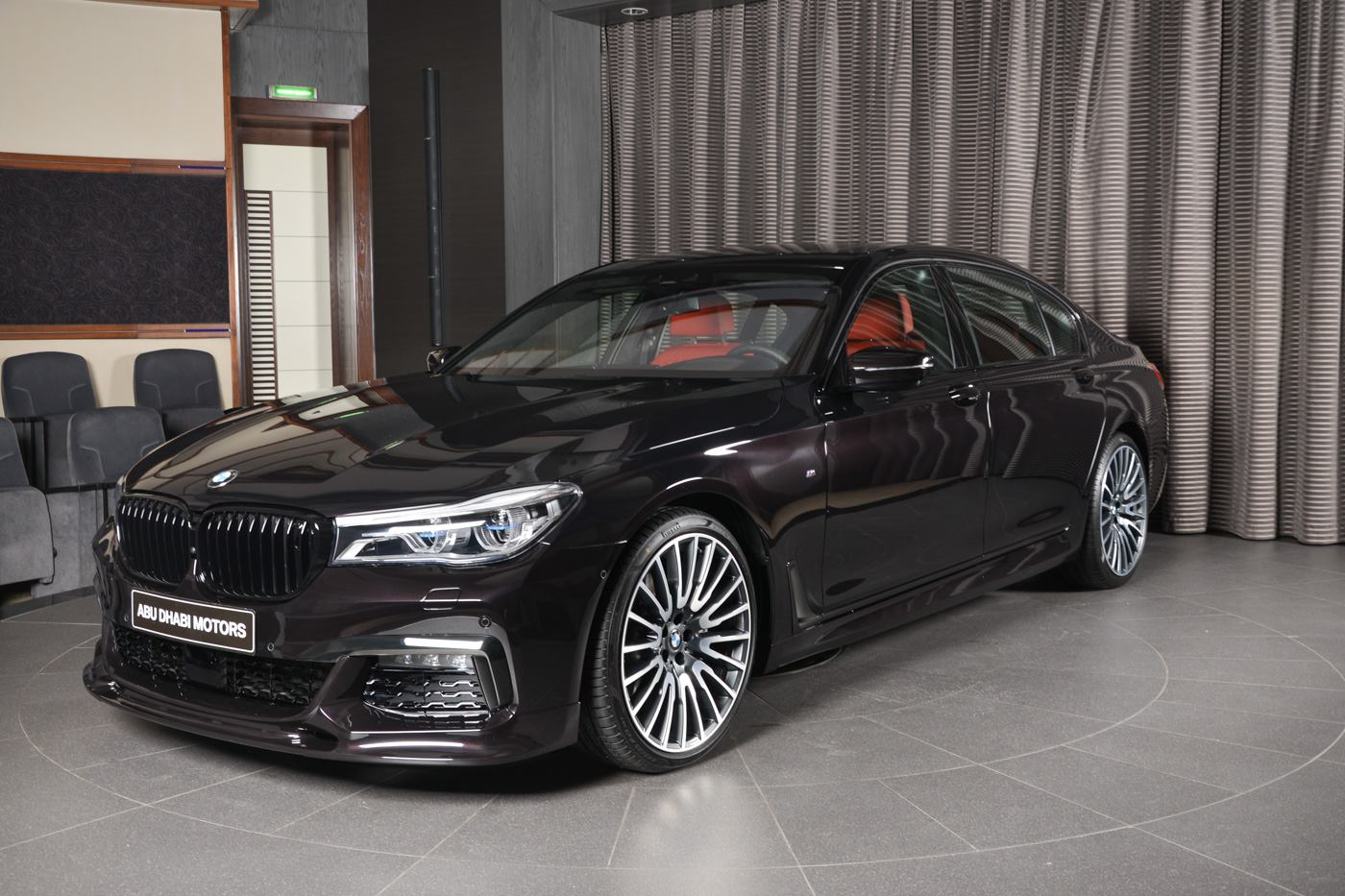 BMW Abu Dhabi Motors, the U.A.E. subdivision of the Bavarian automotive brand, has announced the sales of a unique executive car based on the BMW 7 Series