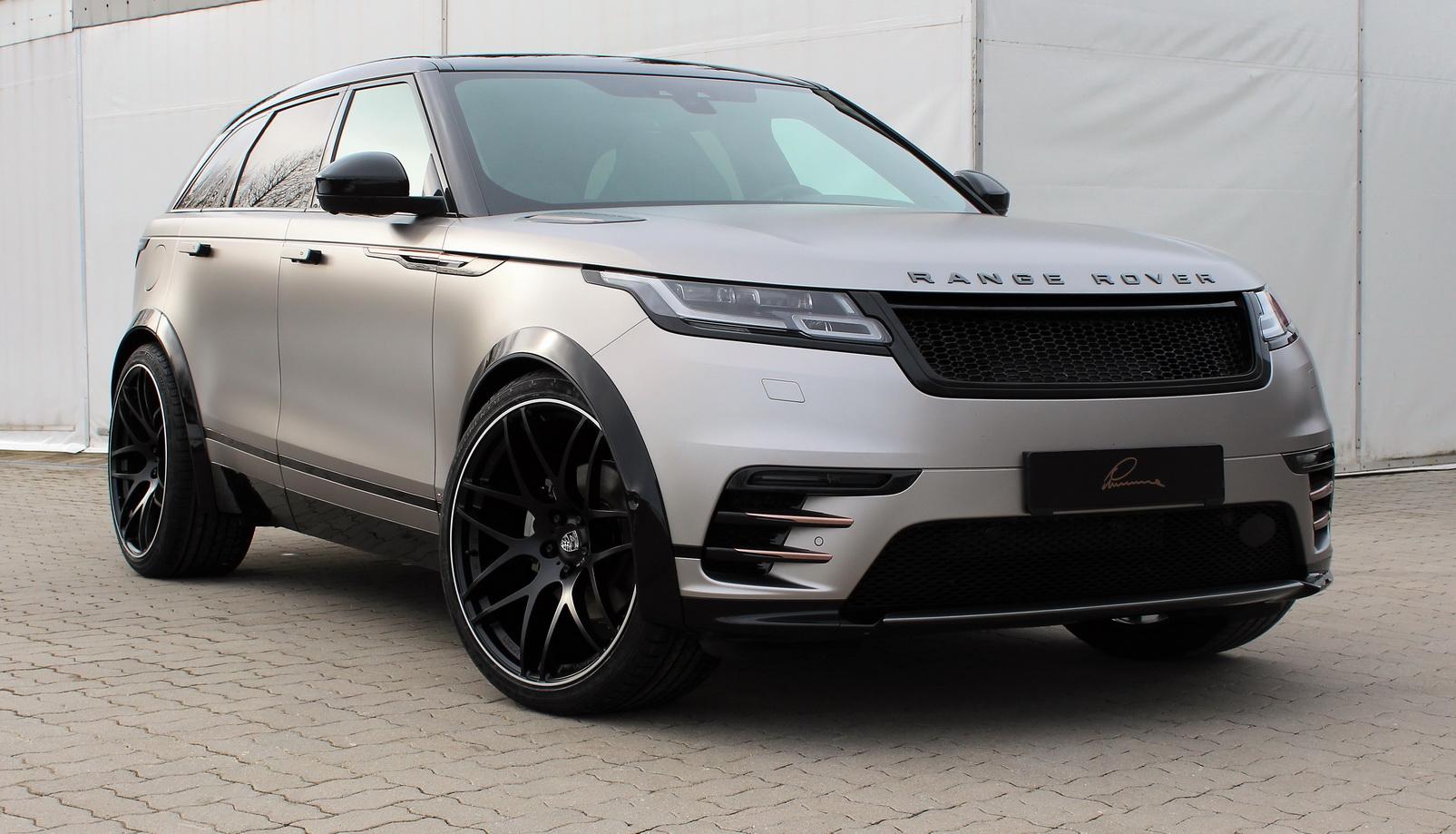 Не так давно ателье Lumma Design рассекретило очередной проект - Range Rover Velar с эксклюзивным пакетом визуальных улучшений