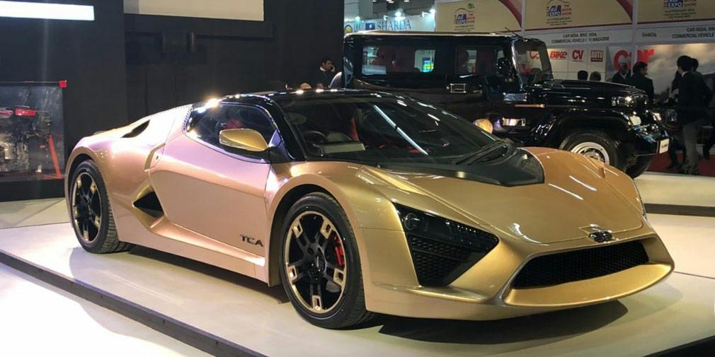 На выставке Auto Expo 2018 в Индии представлена ограниченная спецверсия автомобиля DC Avanti