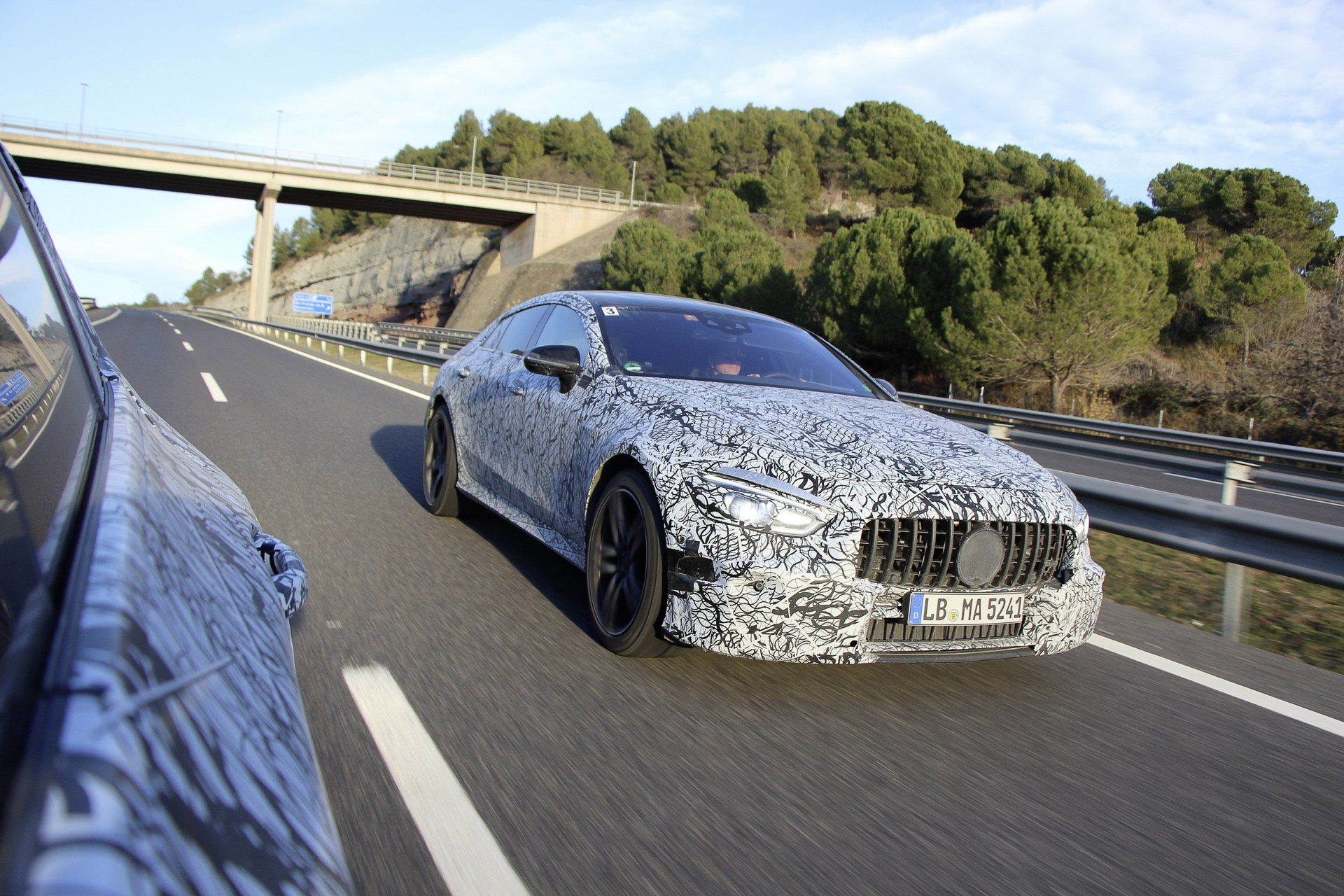 The famous German car manufacturer Mercedes-Benz has posted some early photos of the new four-door Mercedes-AMG GT Coupe supercar on its official website