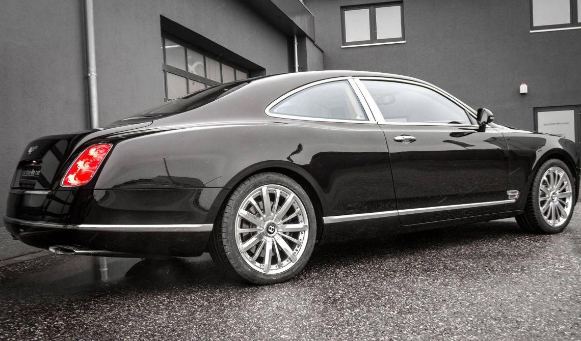 Подчиненные Дэни Бахарa, который ранее возглавлял компанию Lotus, а теперь является владельцем известного тюнинг-ателье Ares Design, серьезно поработали над седаном Bentley Mulsanne