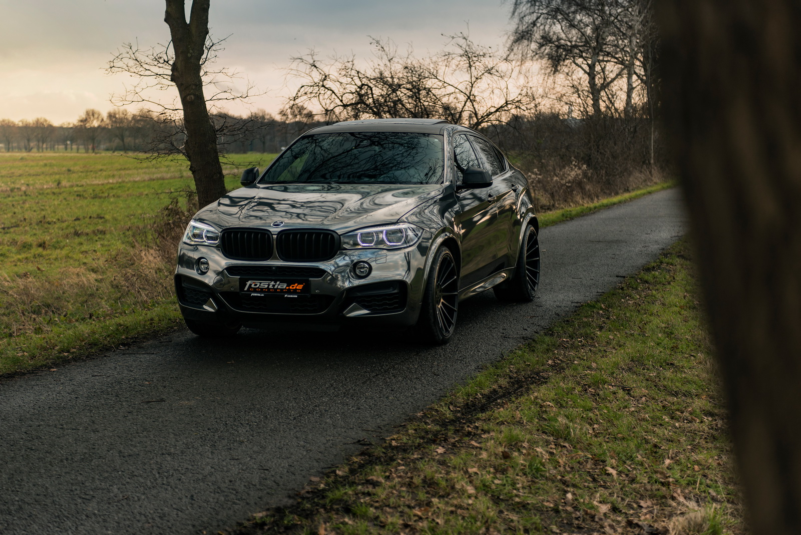 Some people believe there's nothing you can improve in the already perfect BMW X6 M50d. The car tuning atelier Fostla has provided a suggestion, nonetheless