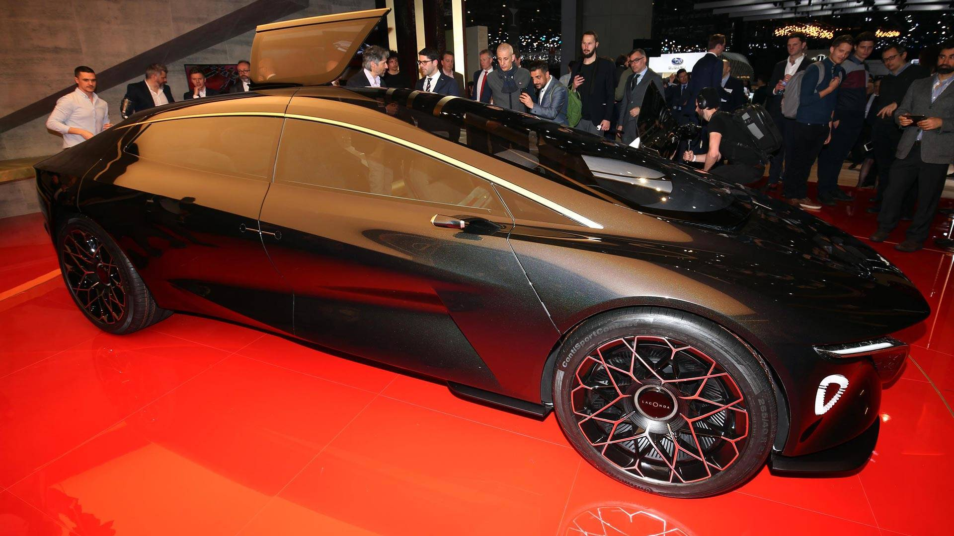 he vehicle looks like a paragon of design and should give you an idea of what all Aston Martin cars will look like in the 2020s
