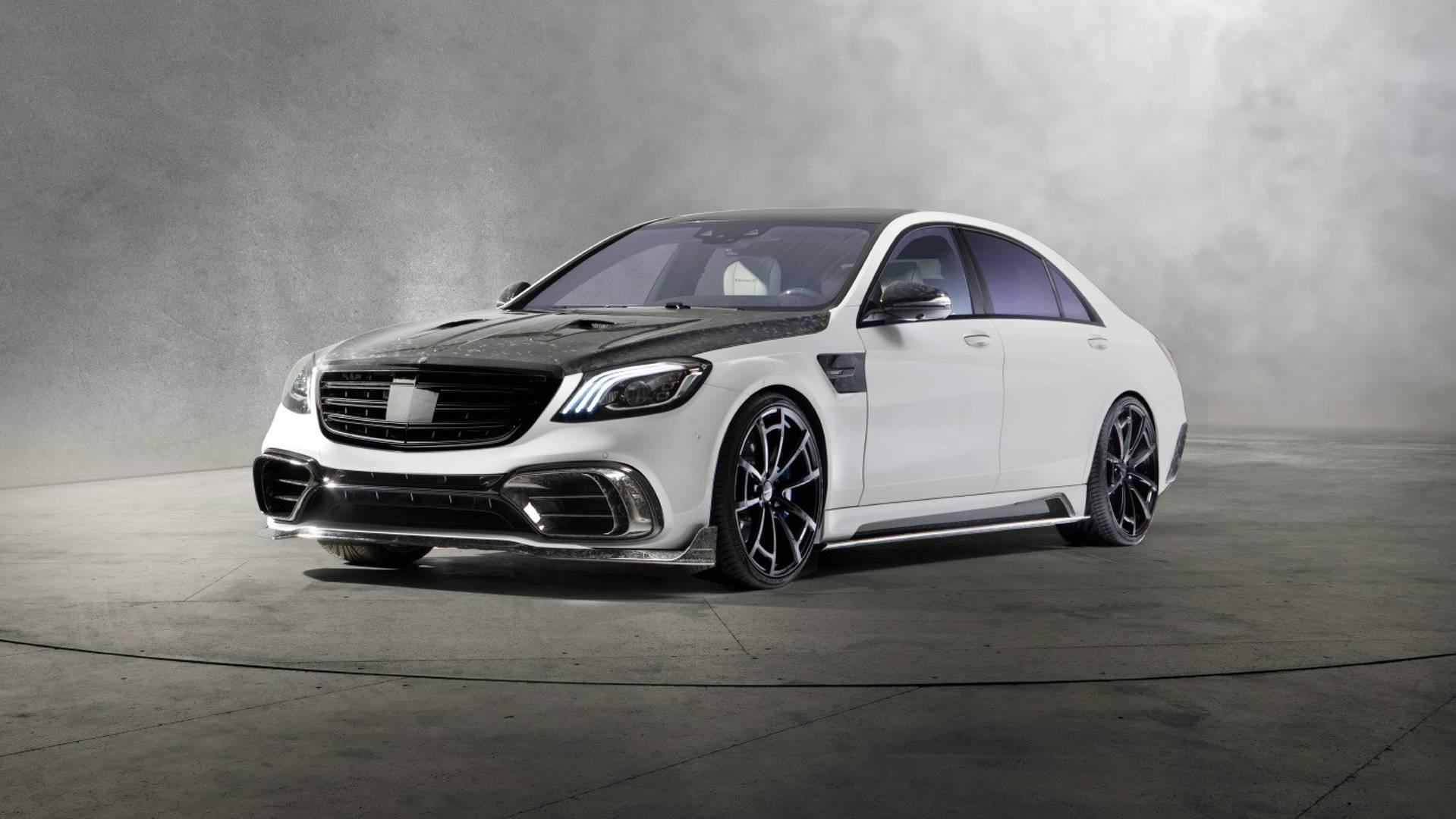 О стоимости доработок для Mercedes-AMG S 63 в ателье предпочли не распространяться