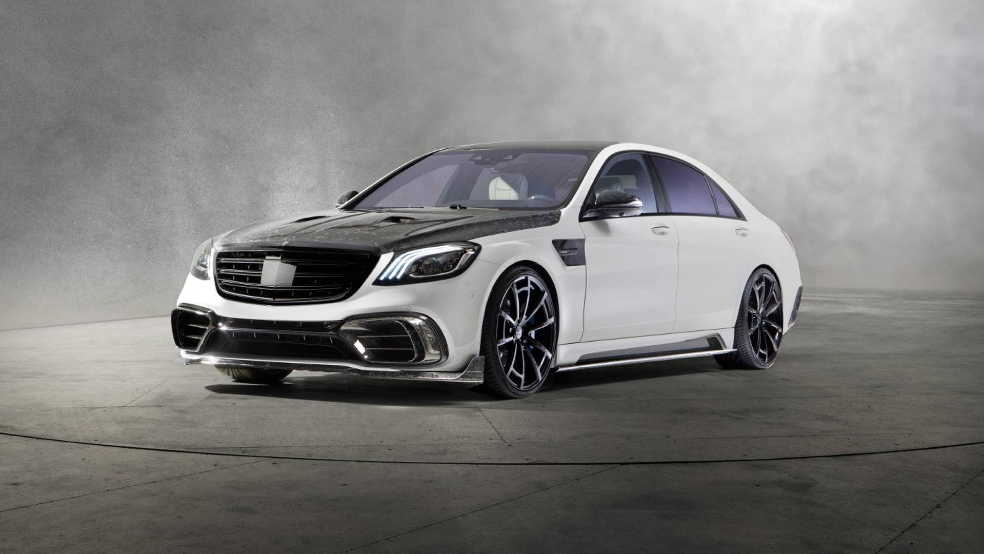Mansory never mentioned the cost of their Mercedes-AMG S 63 redesign
