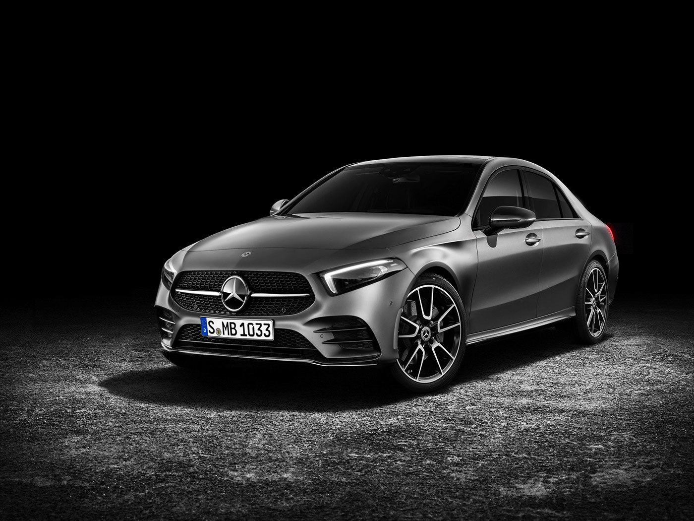A disappointing fact: the official premiere of Mercedes' smallest A-Class sedan to date isn't happening any earlier than mid-2018