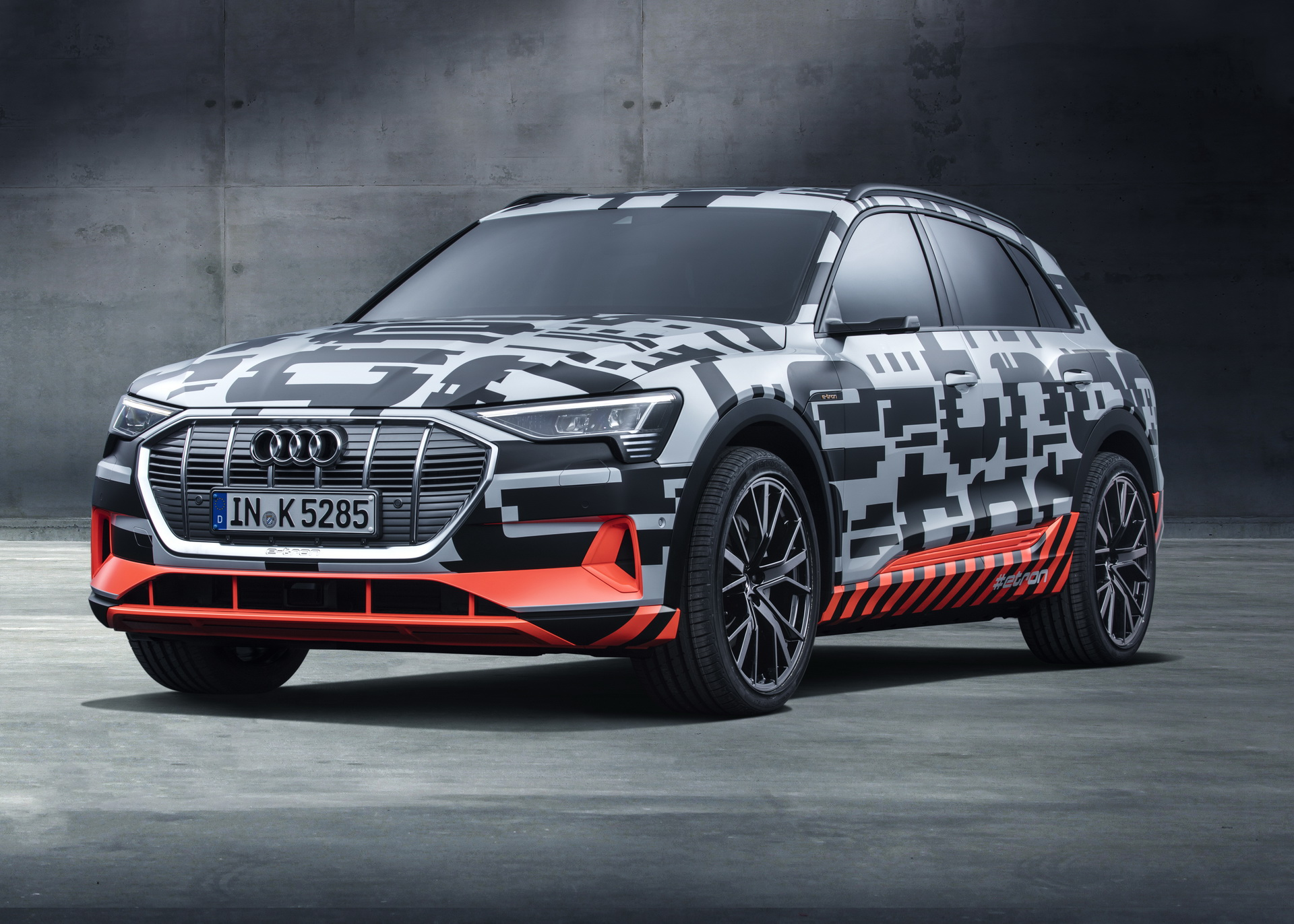 Audi said that its new all-electric E-Tron crossover is going to cost at least €80,000 in Germany