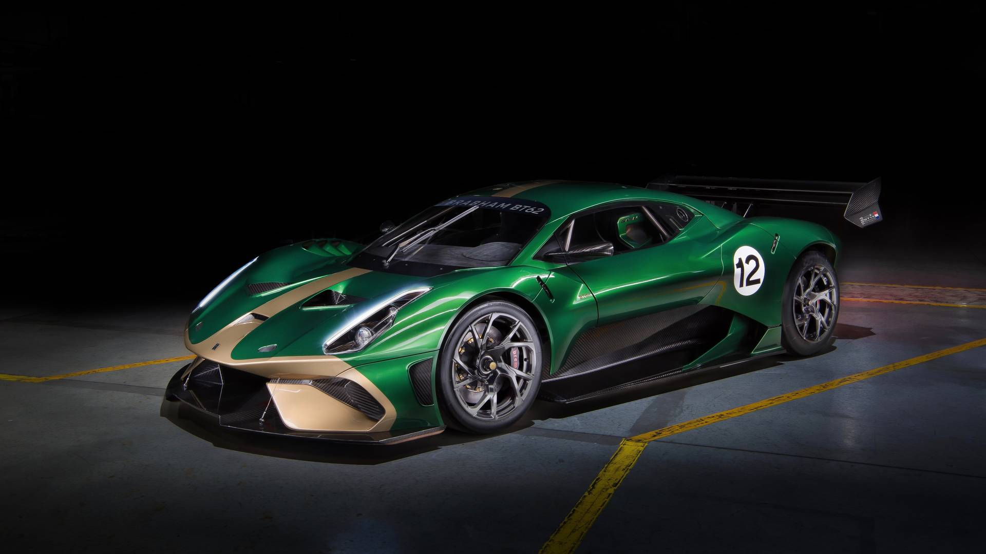 Brabham Automotive has revealed a limited series of Brabham BT62 supercars with over 700 'horses' (520+ kW) under the hood