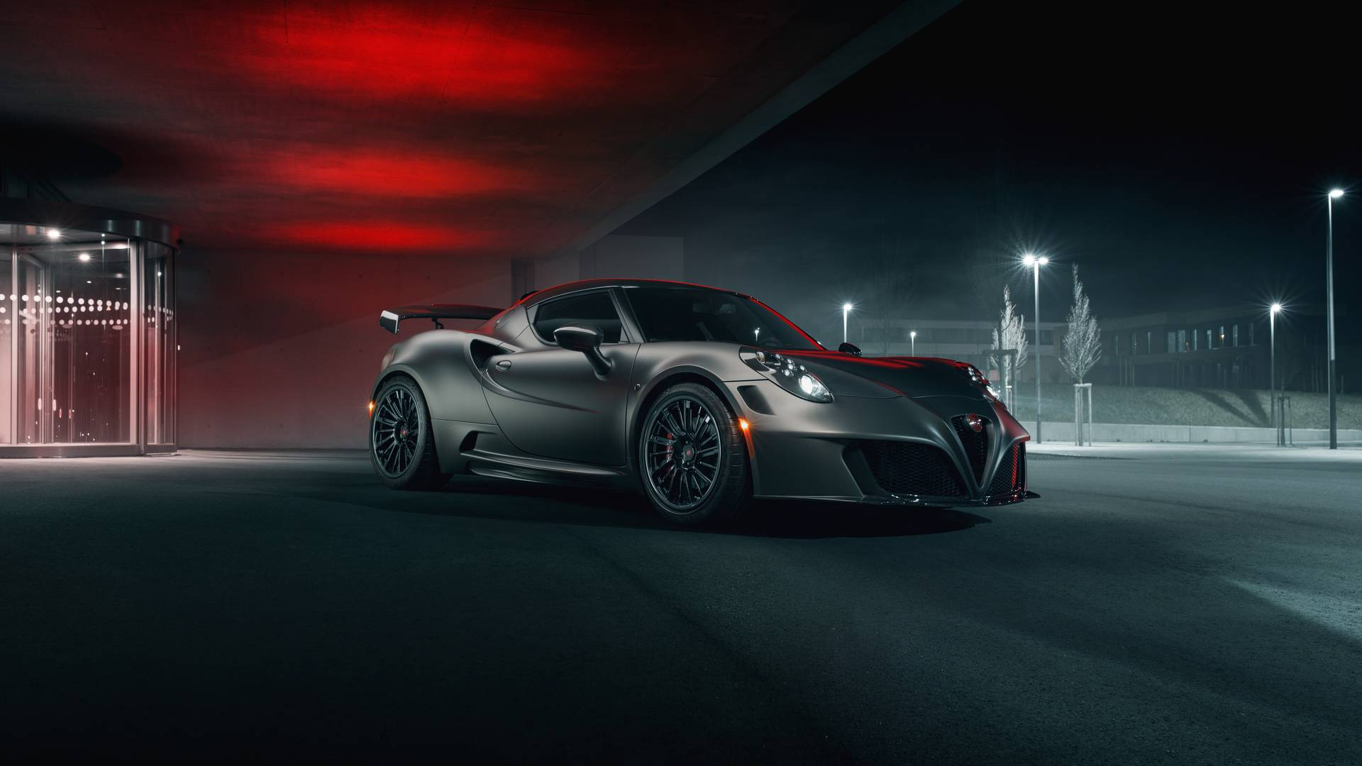 The German tuner workshop Pogea Racing has issued a Nemesis upgrade package for the luxurious two-door coupe Alfa Romeo 4C