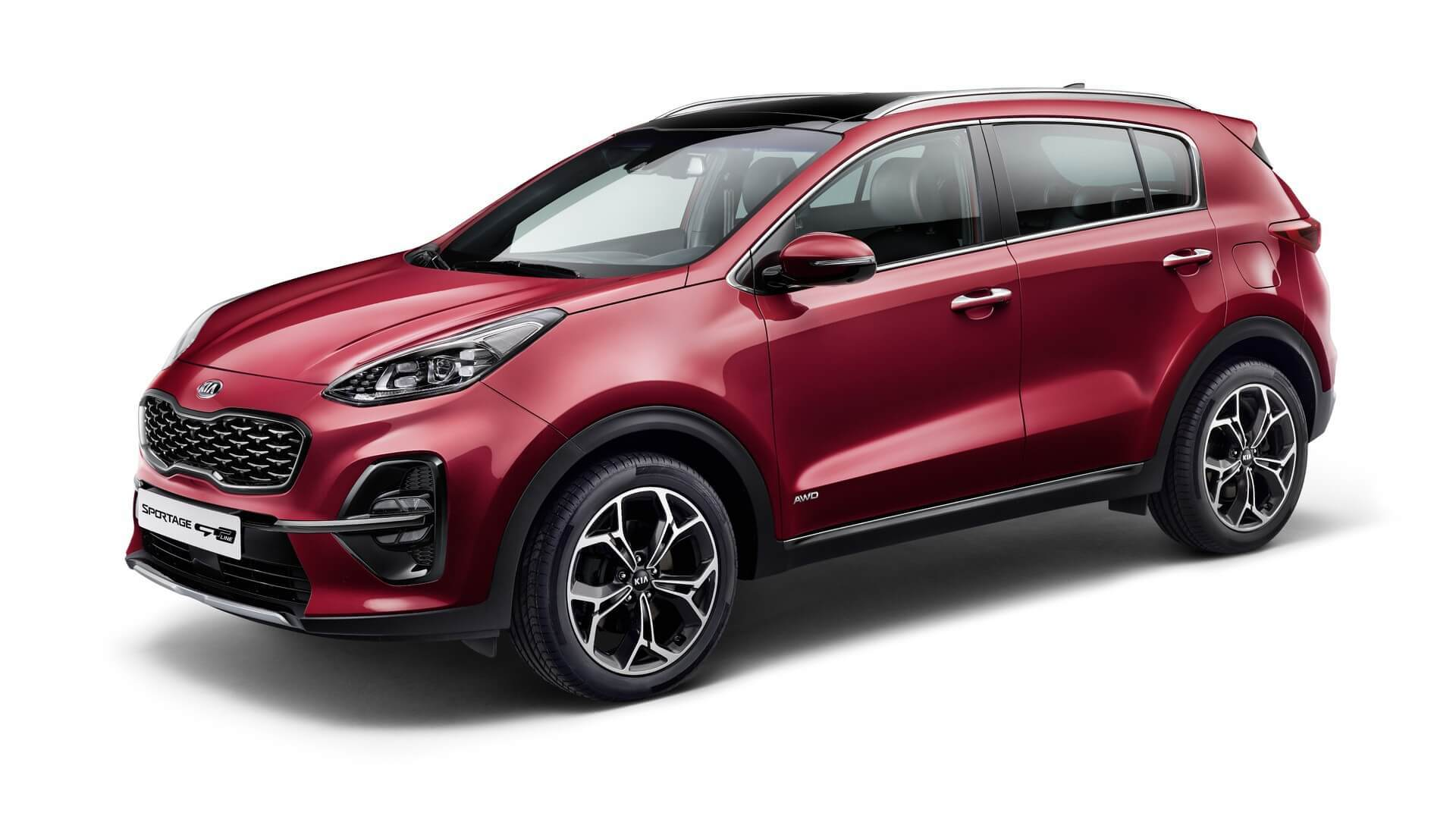The South Korean car giant KIA Motors has revealed the first shots of its refreshed Sportage compact SUV