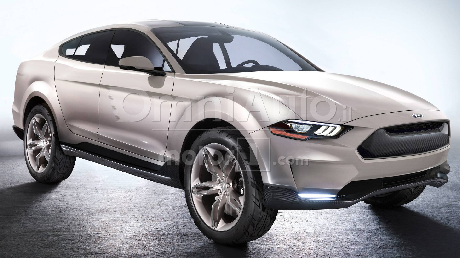 The U.S. automotive brand Ford announced its plans earlier this year to build an all-electric crossover named Ford Mach 1
