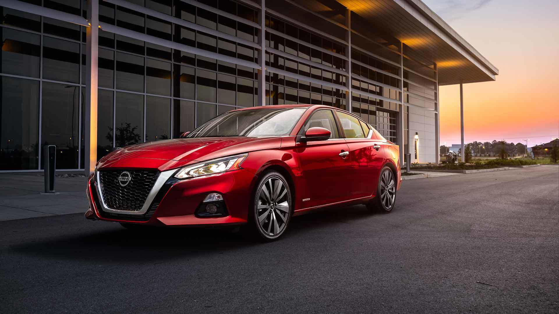 The Japanese car giant Nissan has built a special version of the Altima sedan titled the Edition One