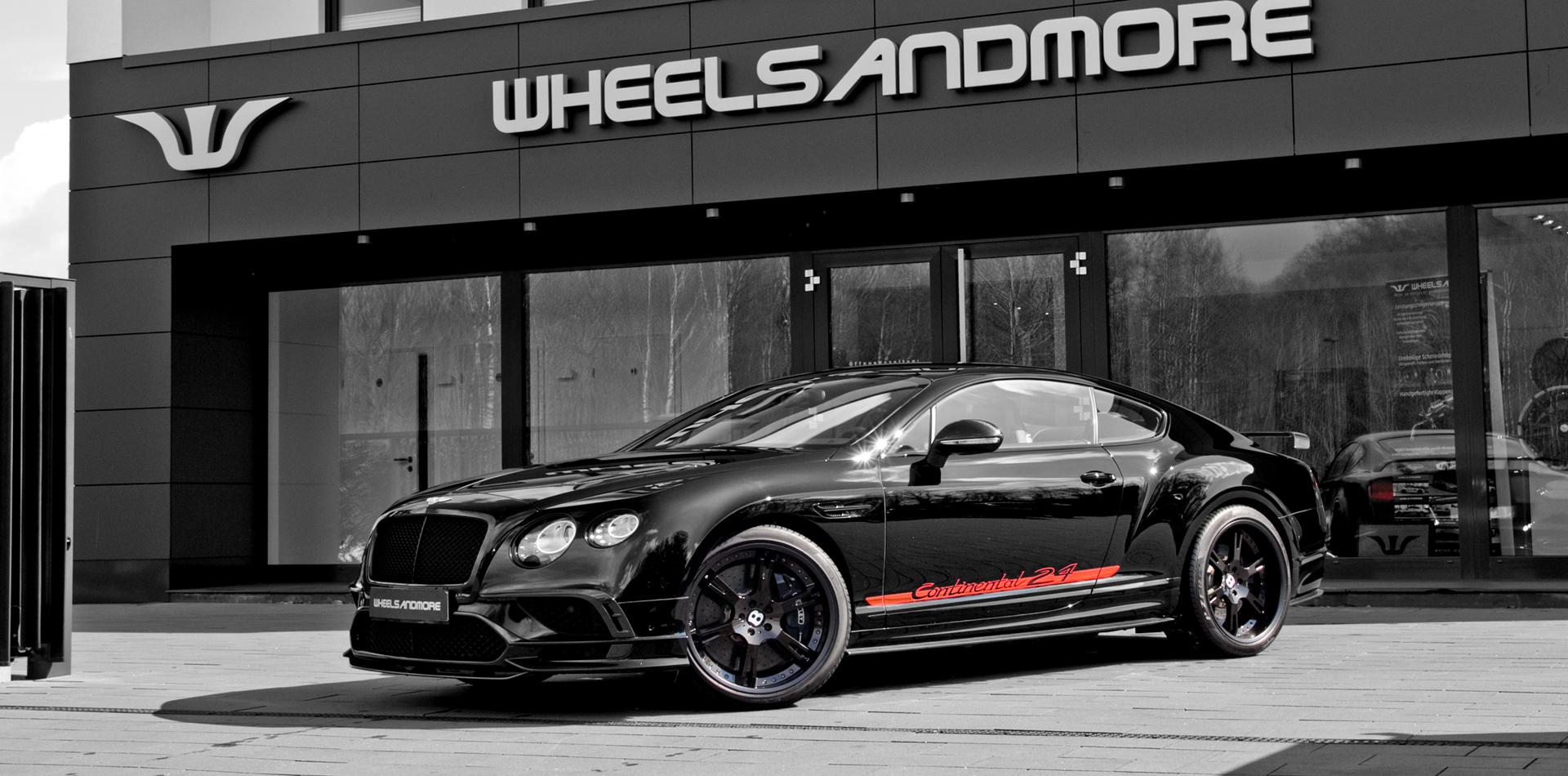 With only 24 copies in existence, the Bentley Continental 24 is not a sight you would see every day (unless you bought one)