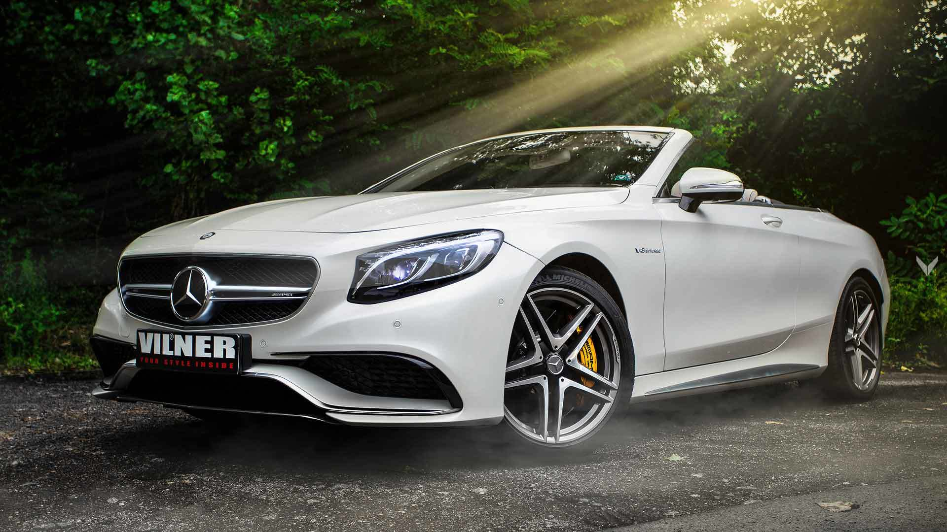 It is no secret that the Mercedes-AMG S63 convertible offers quite a lot in terms of luxury as it is. The Bulgarian car design studio Vilner still managed to find something that was missing