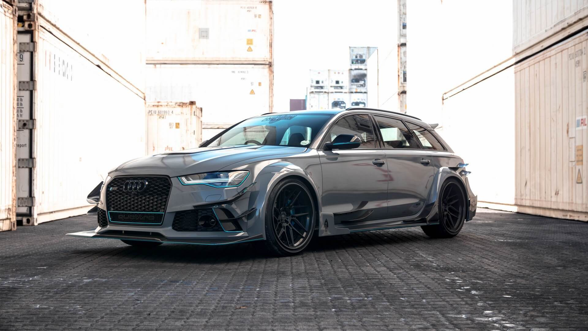 SAR-based car design atelier Race! has unveiled an unusual and most profound take on the Audi RS6 racing vehicle
