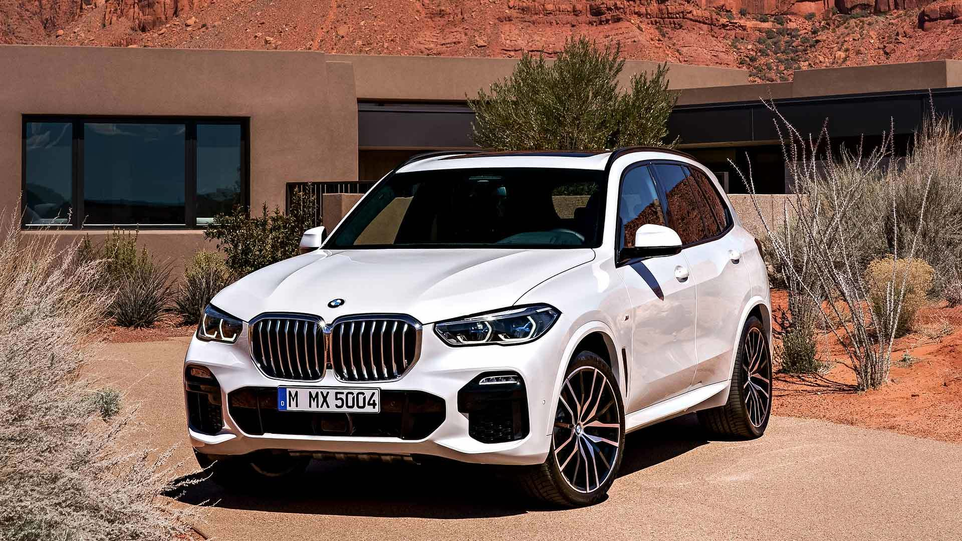 The German automotive giant BMW has held a closed presentation event dedicated to its next-generation X5 SUV series