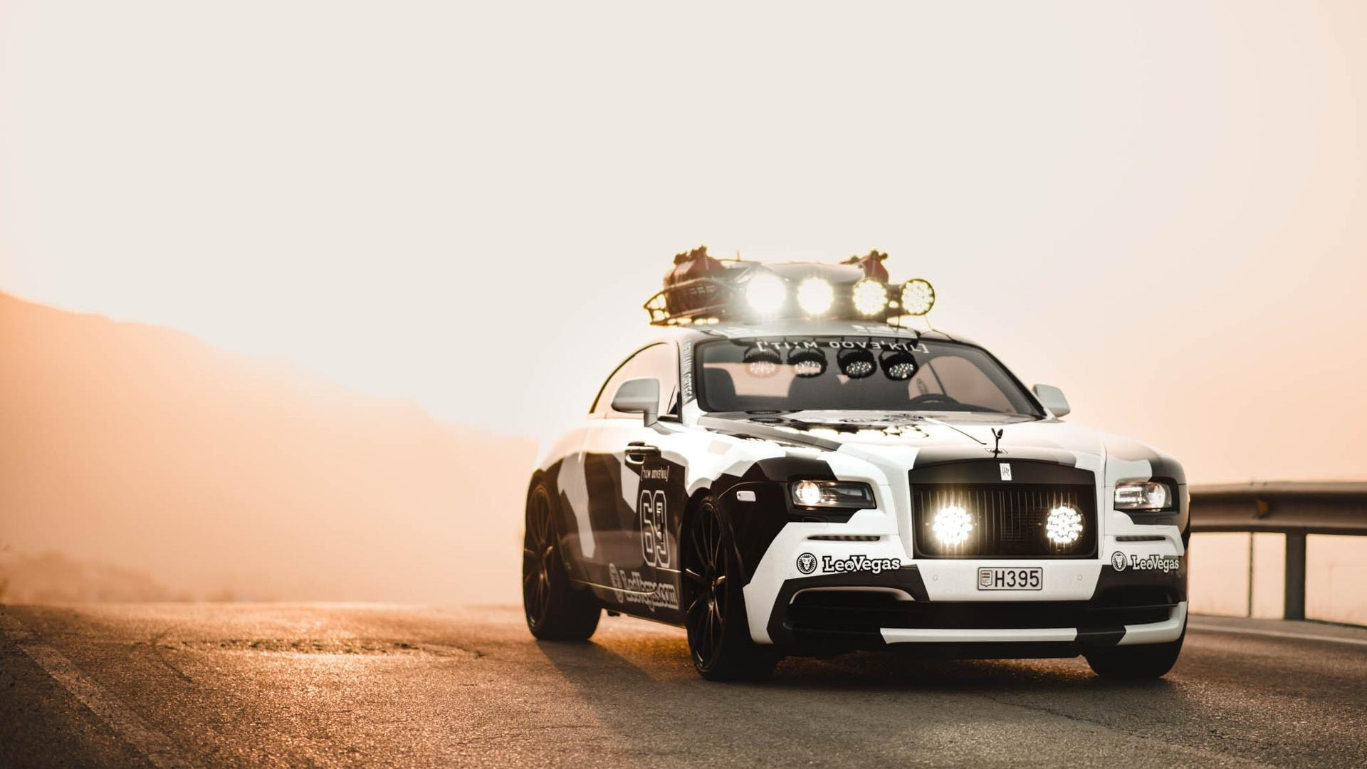 Famous professional free-skier and racing driver Jon Olsson has posted a sale ad with Autoleitner for his modded Rolls-Royce Wraith sport car equipped with a 812hp / 605kW strong engine