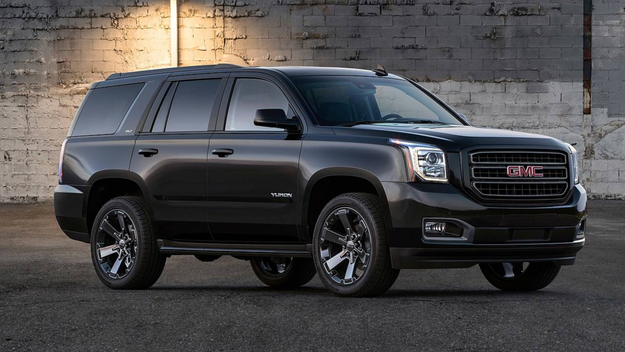The GMC Yukon Graphite Edition can now be purchased in the United States