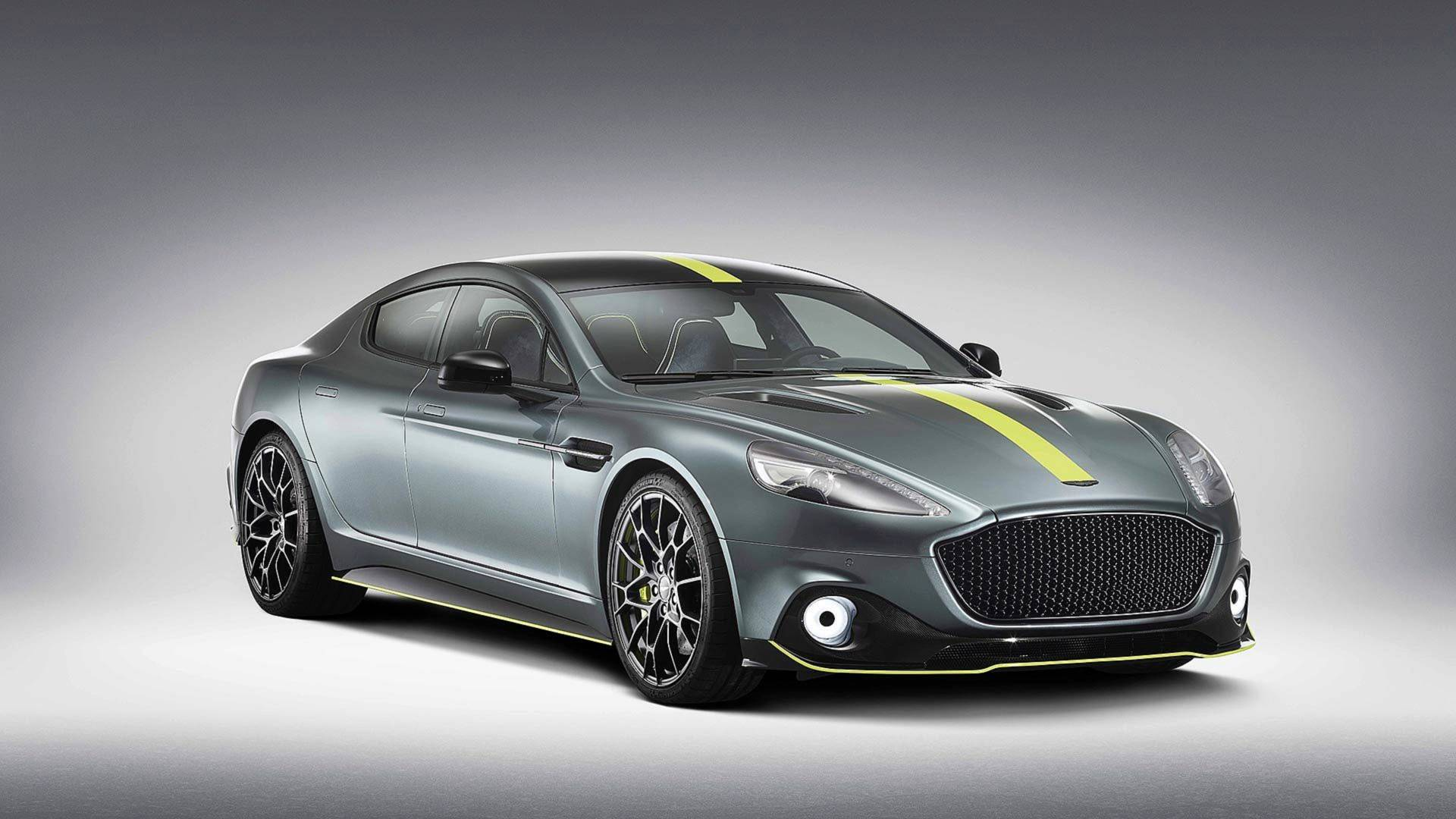 Perhaps the main advantage of the top-of-the-line Aston Martin Rapide AMR lies hidden under the hood