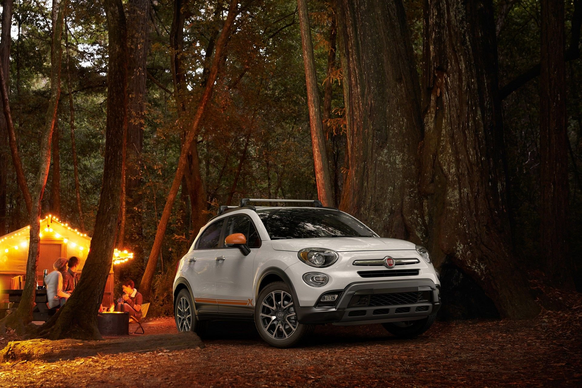 The Fiat 500X Adventurer has the Trekking specification at base