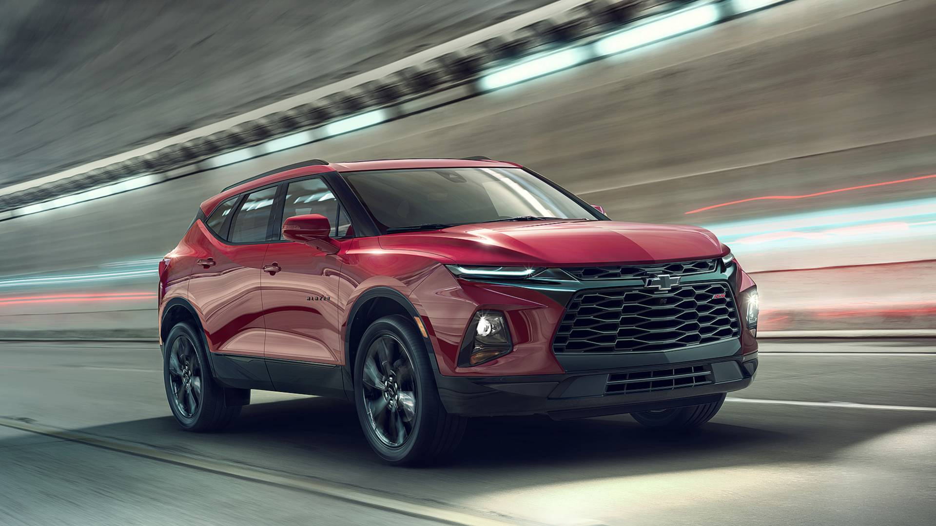 Chevrolet has debuted its new Blazer SUV series based on the Cadillac XT5 in the USA