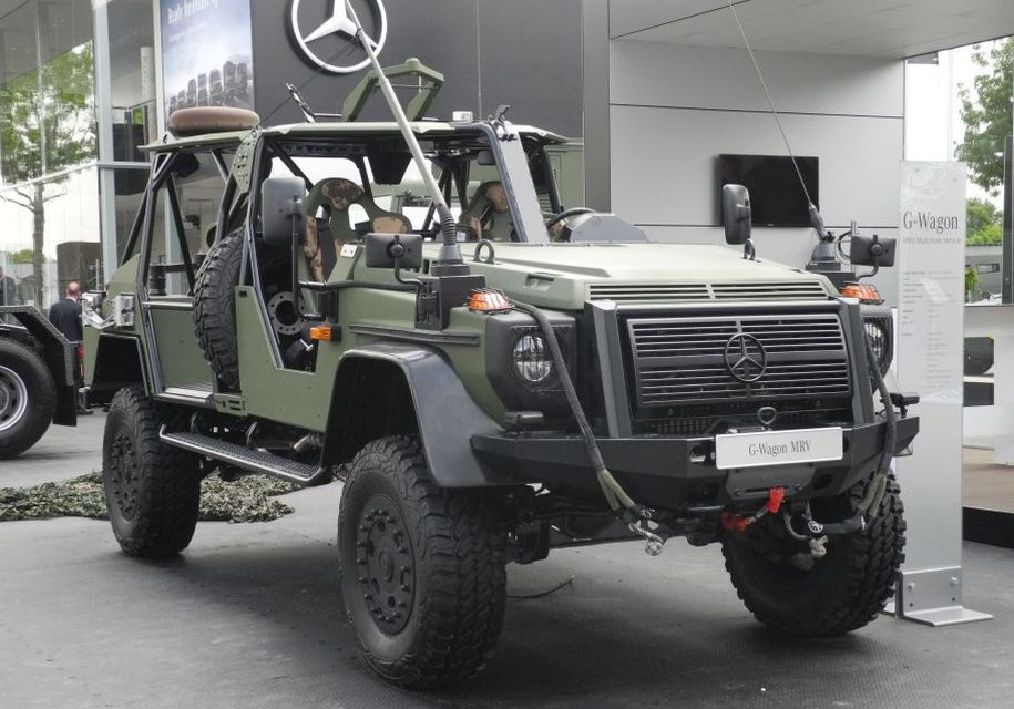 The car manufacturer group Daimler AG has unveiled a new Mercedes-Benz G-Class model designed specifically for the military forces