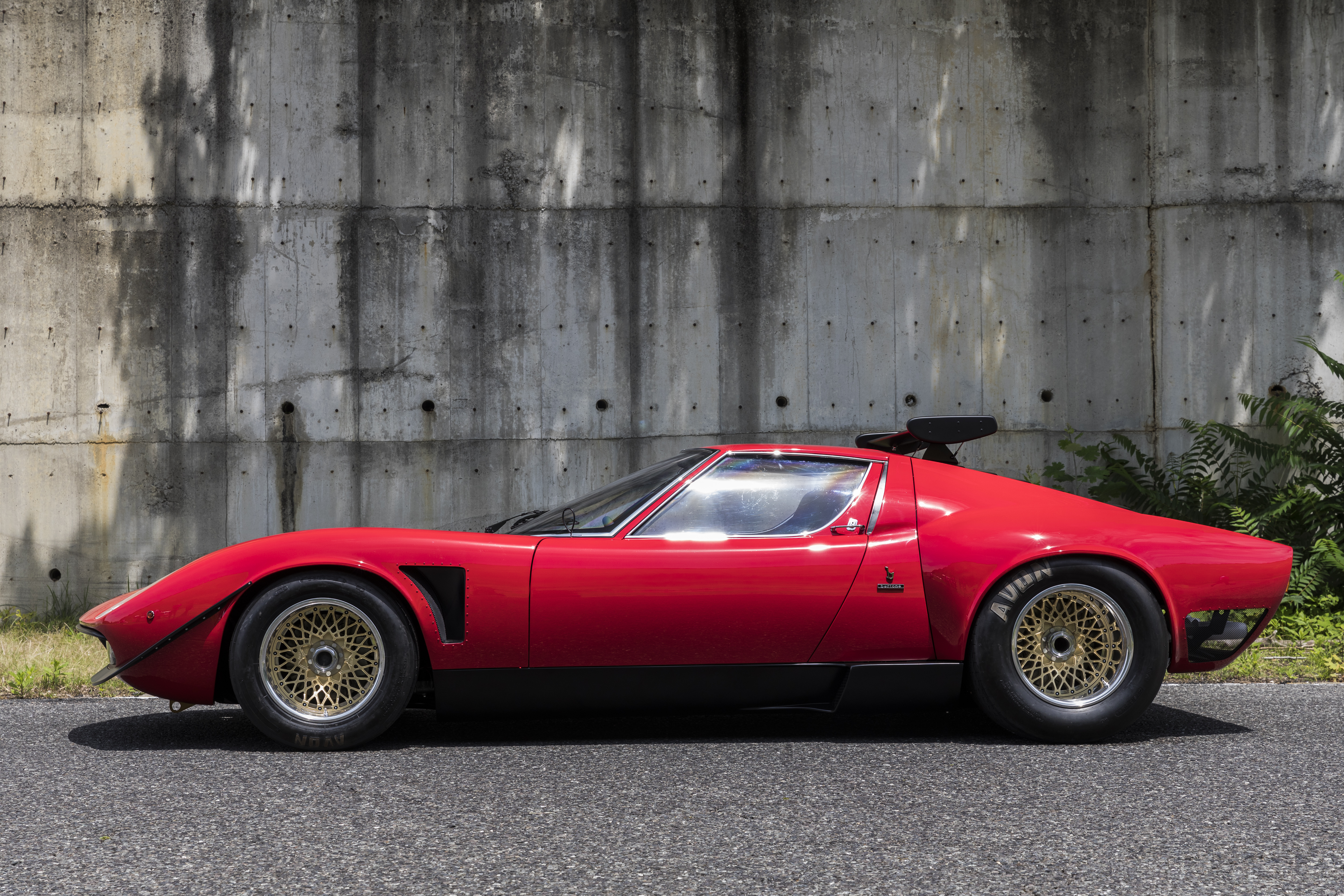 One of Lamborghini's dedicated subdivisions has finished the restoration of the world's only Miura SVR vehicle issued in 1974