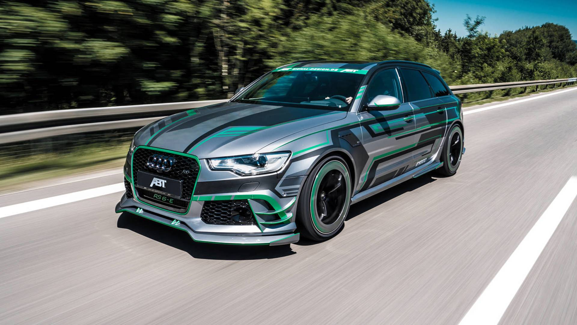 The car design atelier began by using its own customized RS6 design, rather than a production vehicle