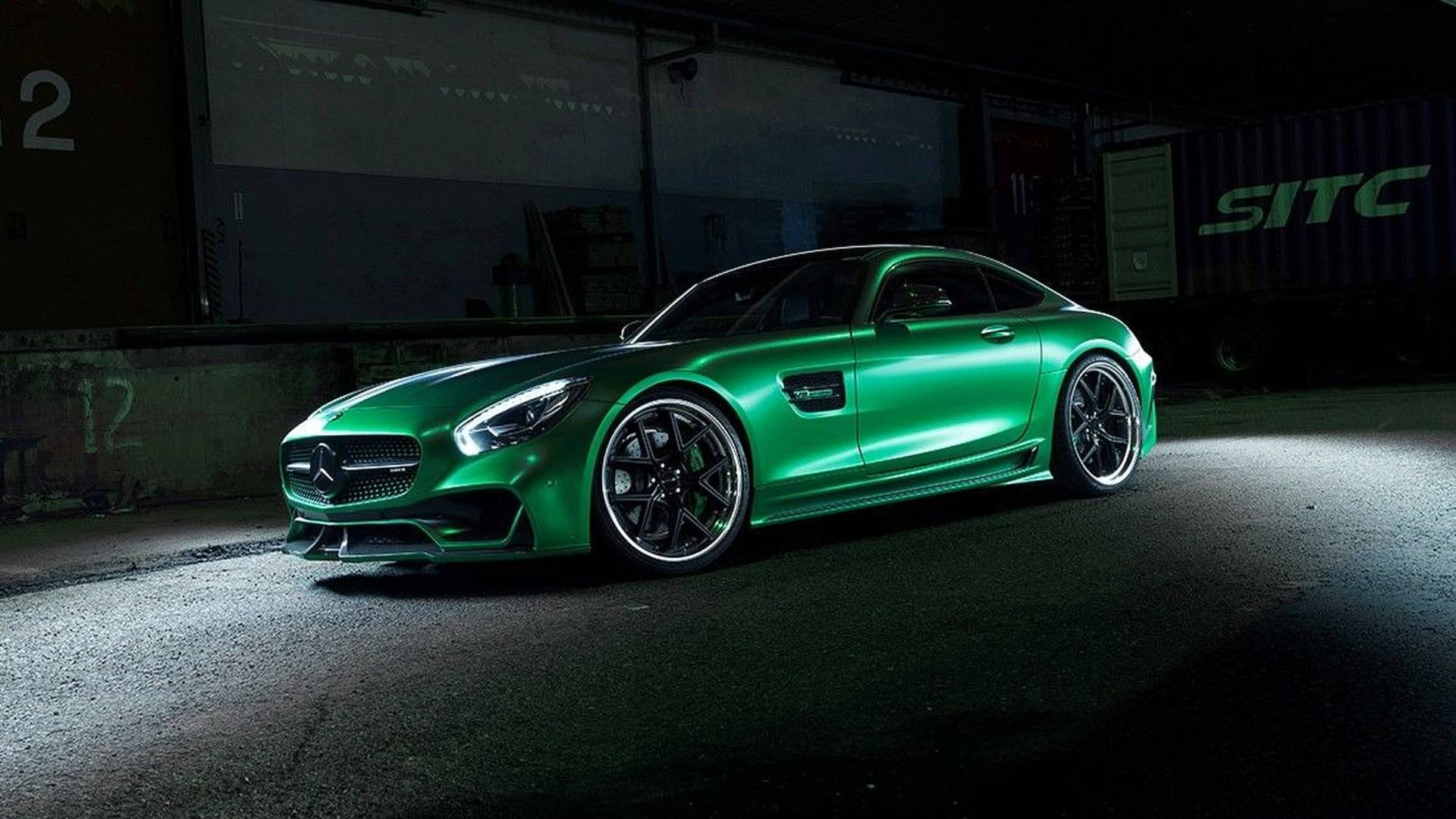 Japanese car design atelier Wald International has revealed its take on the Mercedes-AMG GT sport car