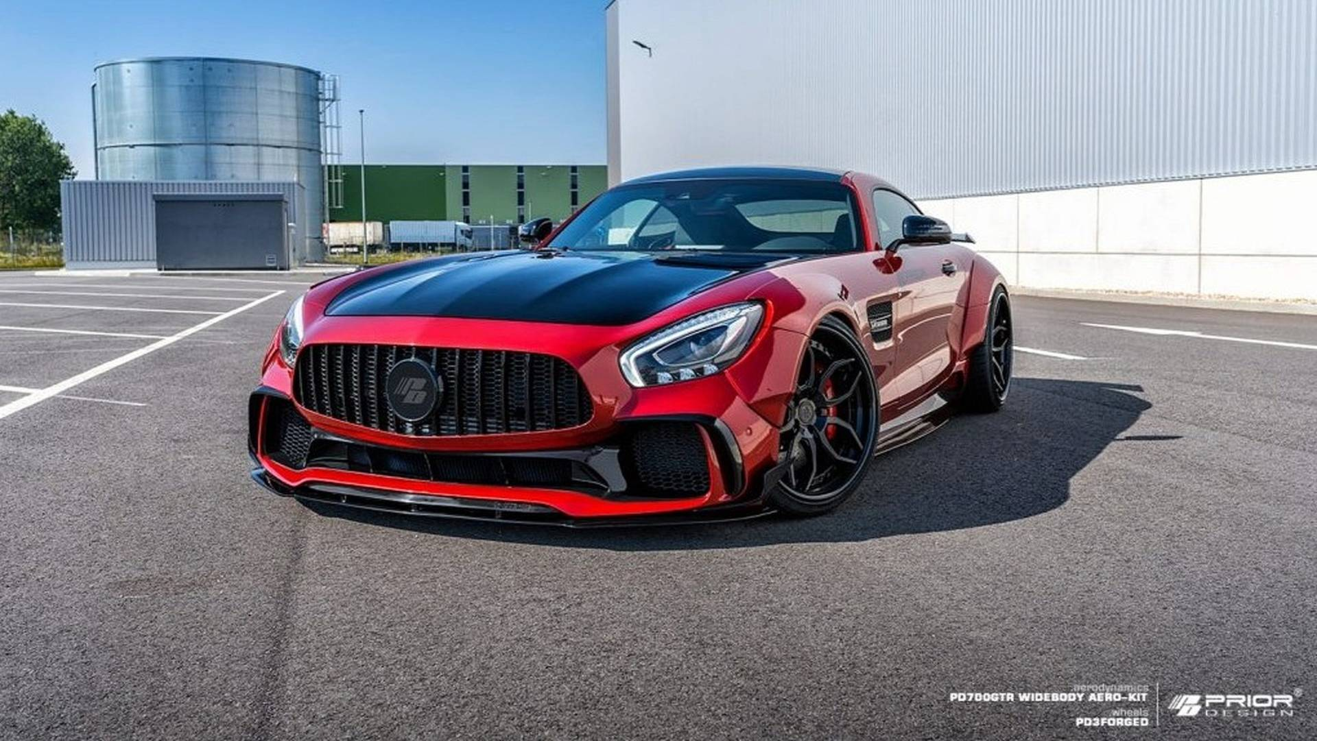 The Prior Design car atelier has been releasing body kits for Mercedes sport cars for over three years now