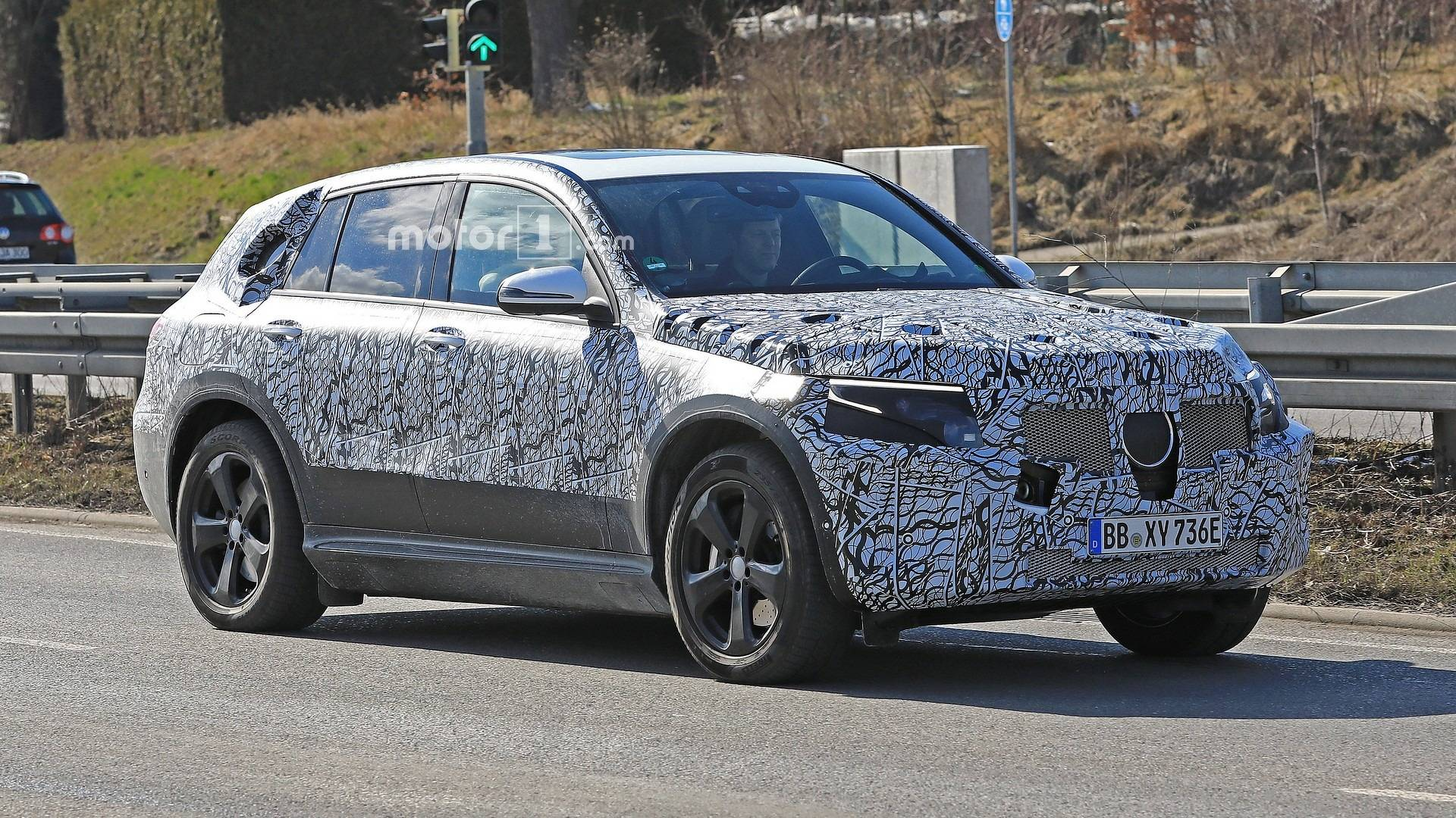Mercedes-Benz began the road tests of its brand-new, all-electric EQ C SUV in the beginning 2018, so this isn't the first time we are seeing it out in the open