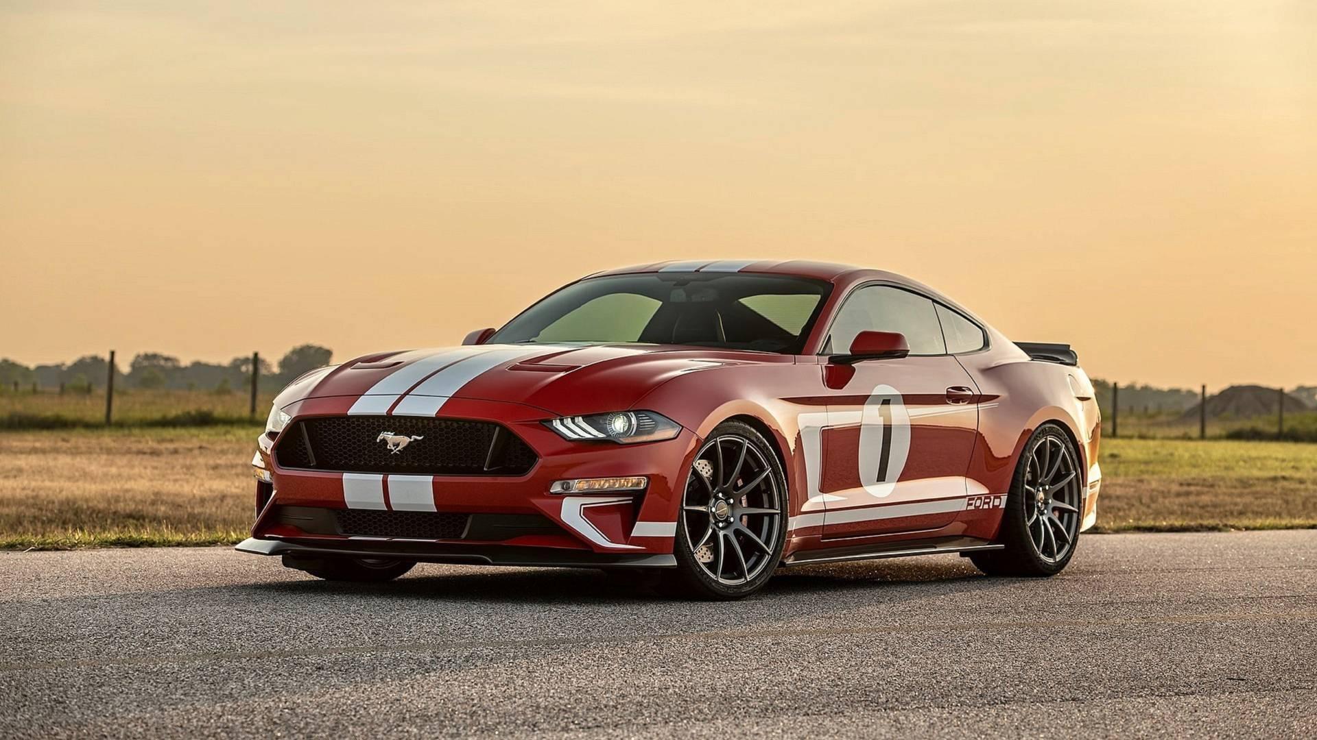В тюнинг-ателье Hennessey (США) анонсировали выход ограниченной серии маслкаров Ford Mustang с именем Heritage Edition