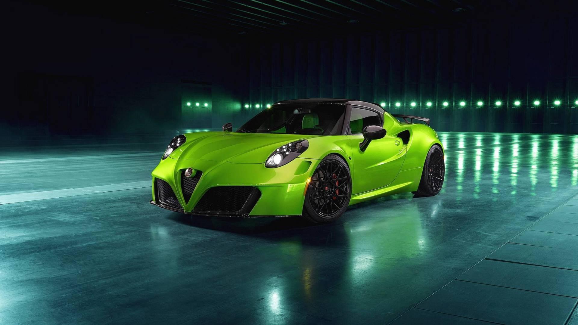 В тюнинг-ателье Pogea Racing предложили необычный пакет обновлений для спорткара Alfa Romeo 4C