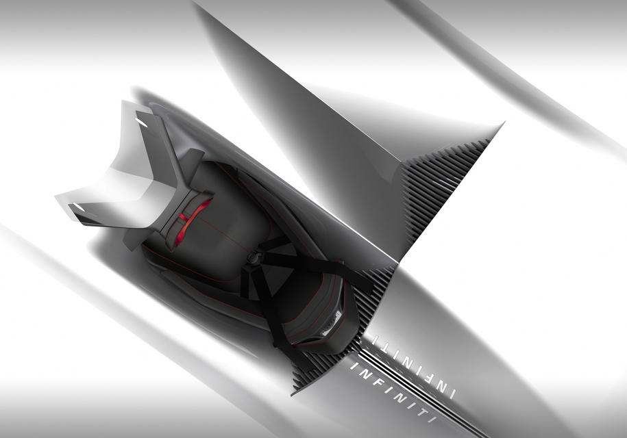 Японский автопроизводитель «Инфинити» распространил первый снимок экологически чистого родстера