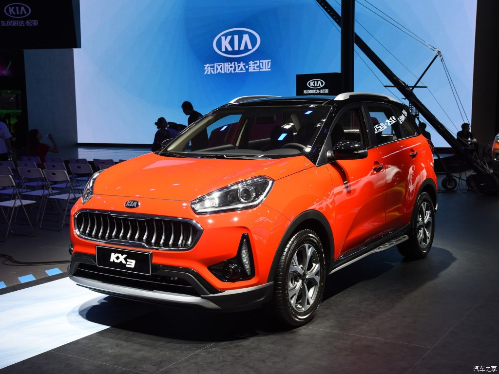 The restyled Kia KX3 crossover series is currently exhibited at the Chengdu International Motor Show which opened earlier today, August 31, in the city of Chengdu, China