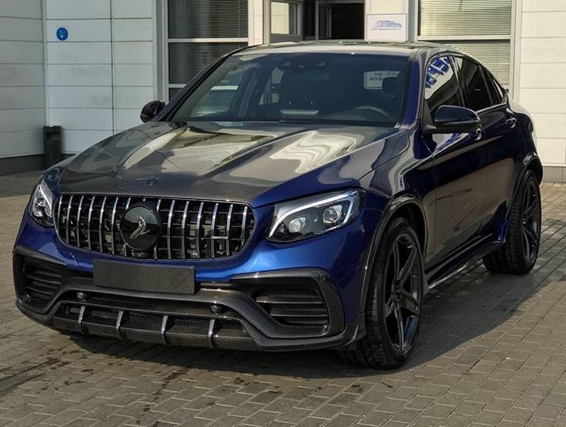 Кто только не модифицировал Mercedes-Benz GLC: над купе работали в Brabus, Wald International, а теперь за дело взялись российские мастера из TopCar