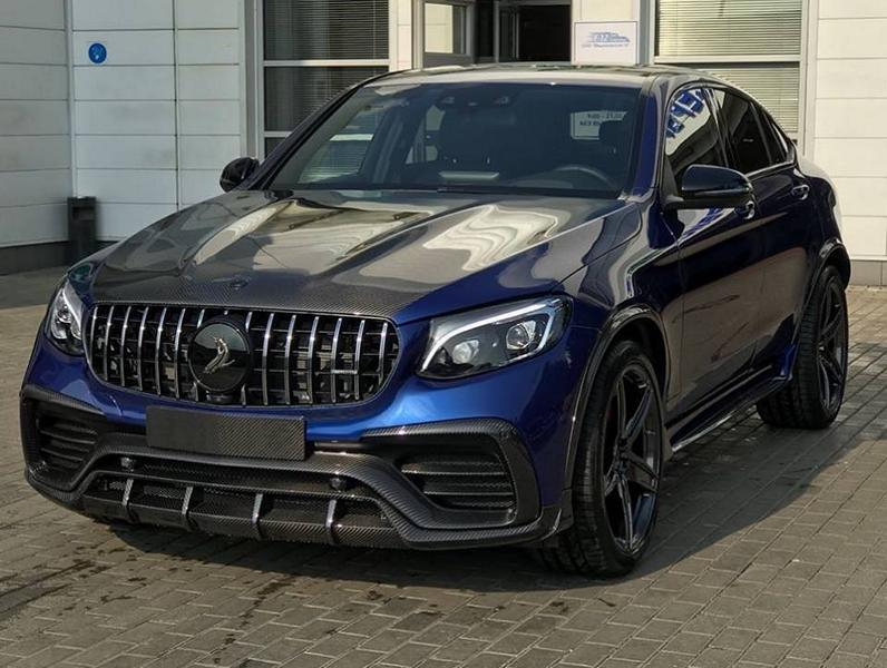 Following in the footsteps of Brabus and Wald International, Russian car tuner team TopCar has released a new body kit for the Mercedes-Benz GLC, optionally available in top-quality lacquered carbon