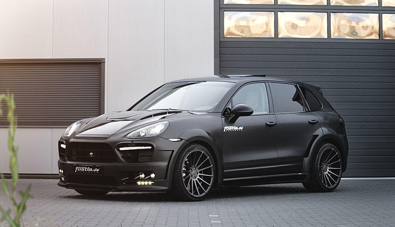 The designer team took a Cayenne Guardian Evo armed with a 4.2L V8 diesel engine