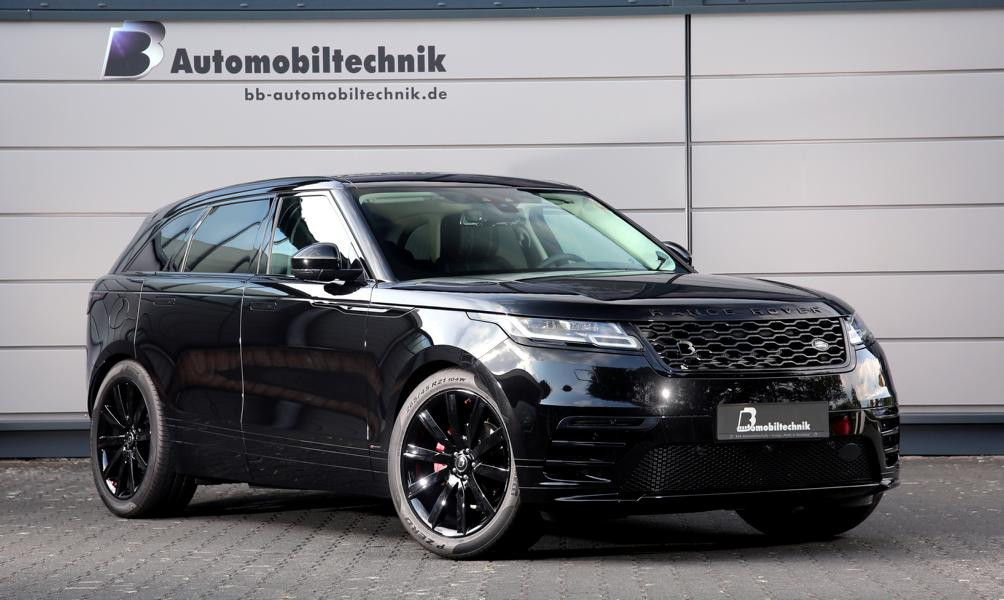 Car tuner B&B Automobiltechnik has developed an extensive upgrade plan for the Range Rover Velar SUV