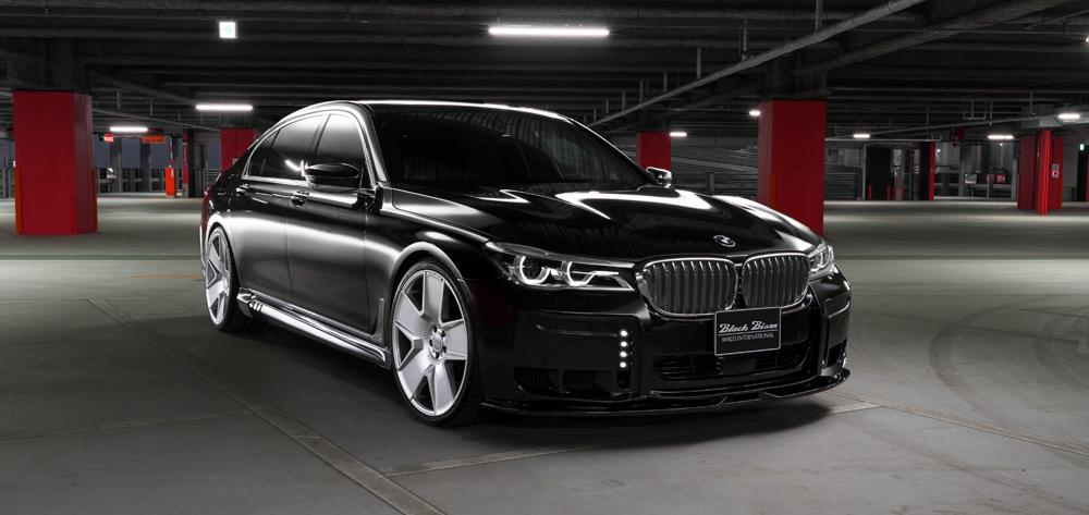 Mастерская Wald International презентовала тюнингованный BMW 7 Sports Line Black Bison Edition